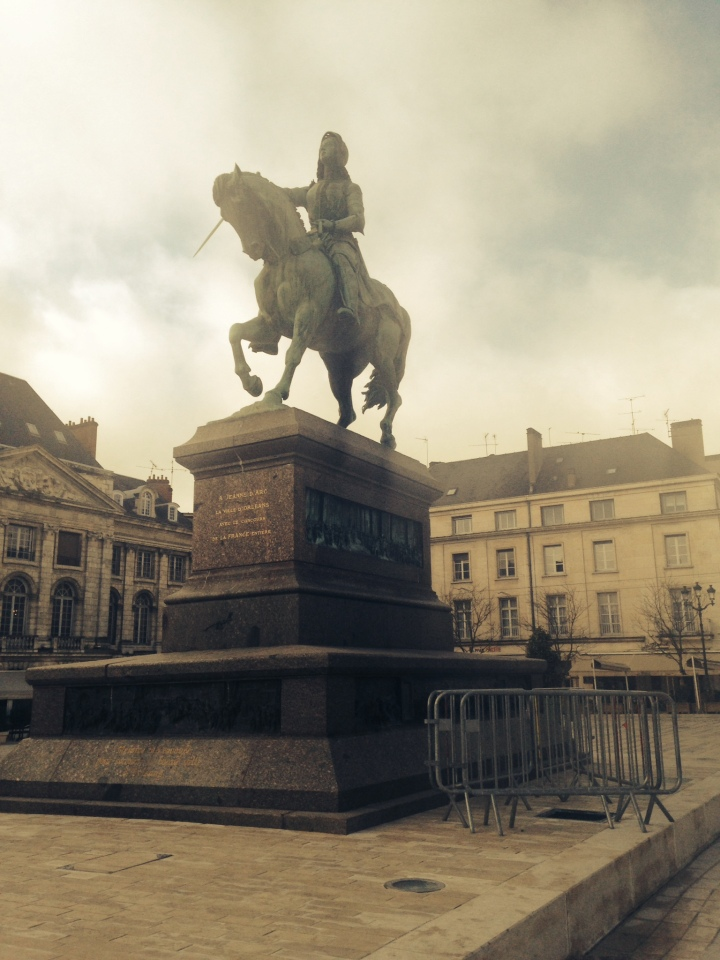 one of the joan of arc statues in orleans