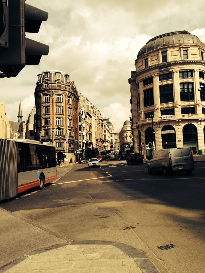 downtown brussels is pretty cool!