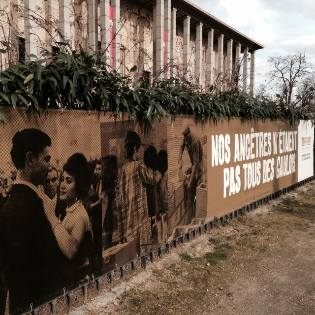 the outside of my favorite museum in paris: the cité nationale de l'histoire de l'immigration at 293 avenue daumesnil