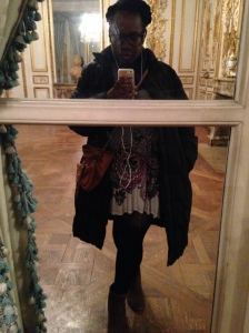 Selfie in one of the beautiful re-created rooms of Musée Carnivalet.